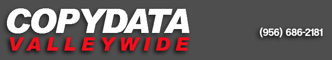 Copy Data Valleywide  McAllen Copiers Logo